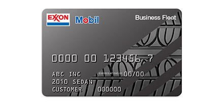Business gas credit cards from exxonmobil exxon and mobil business fleet card reheart Image collections