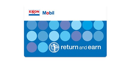Gas discounts rewards and promotions exxon and mobil return and earn driver loyalty and rewards program reheart Choice Image